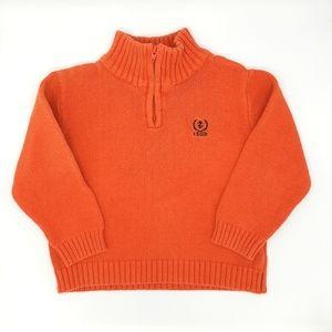 Izod Baby Boys Quarter Zip Pullover Sweater 18m